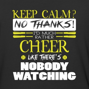 I'd Much Rather Cheer T Shirt - Baseball T-Shirt