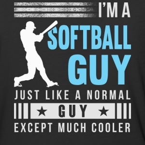 I'm A Softball Guy T Shirt - Baseball T-Shirt