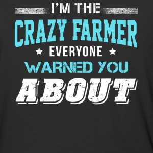 I'm The Crazy Farmer T Shirt - Baseball T-Shirt