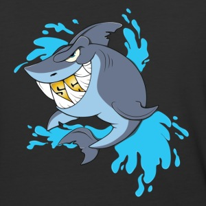 Splash Gang Shark - SG Gold Teeth - Baseball T-Shirt