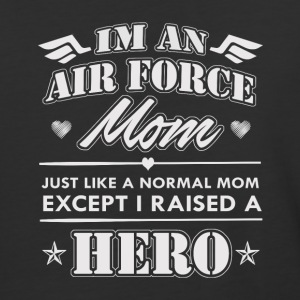 Airforce Mom - Baseball T-Shirt
