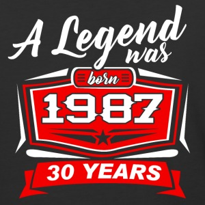 30 YEARS Birthday 1987 a legend T-Shirt - Hoodie - Baseball T-Shirt