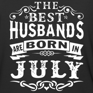 The best husbands are born in July - Baseball T-Shirt