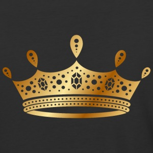 golden crown the king of rap drawing graphic arts - Baseball T-Shirt