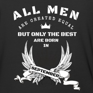only the best are born in september - Baseball T-Shirt