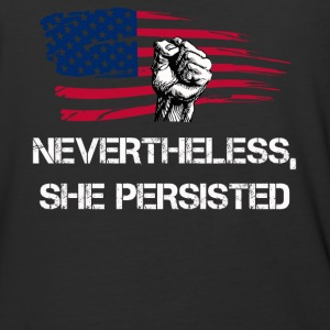 Nevertheless, she persisted shirt - Baseball T-Shirt