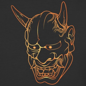 gold_japan_demon - Baseball T-Shirt