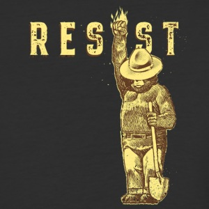 resist smokey - Baseball T-Shirt