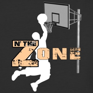 Basketball Zone - Baseball T-Shirt