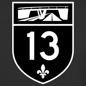 Highway 13 - Baseball T-Shirt