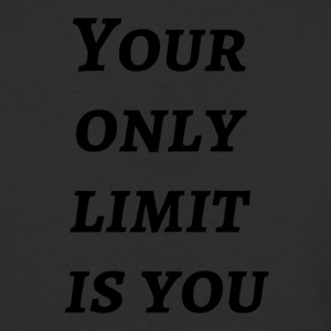 Your only limit is you - Baseball T-Shirt