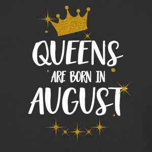 QUEENS ARE BORN IN AUGUST - Baseball T-Shirt