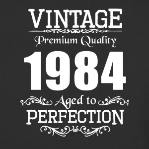 Vintage Premium Quality 1984 Aged To Perfection - Baseball T-Shirt