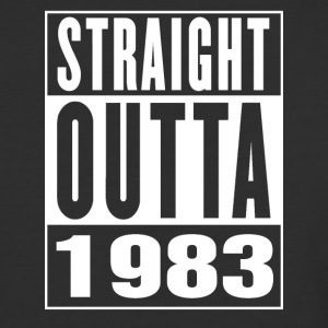 Straight Outa 1983 - Baseball T-Shirt