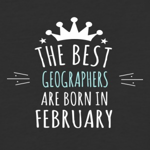 Best GEOGRAPHERS are born in february - Baseball T-Shirt