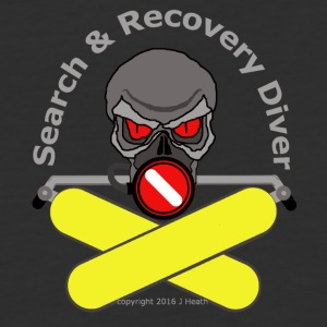 Search And Recovery Diver Yellow Bottles - Baseball T-Shirt