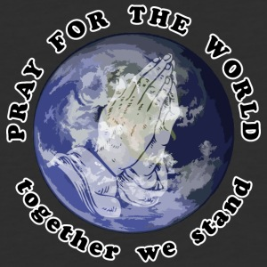 Pray For The World - Baseball T-Shirt