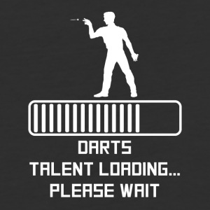 Darts Talent Loading - Baseball T-Shirt
