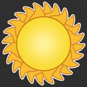 sun sol sunset sundown sunbeams sunshine sunflower - Baseball T-Shirt