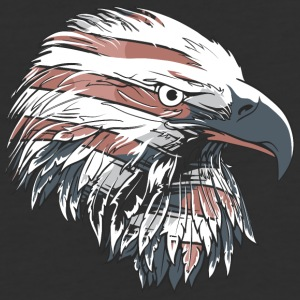 Eagle head - Baseball T-Shirt