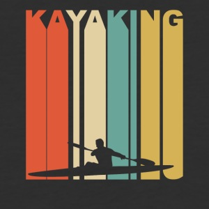 Vintage Kayaking Graphic - Baseball T-Shirt