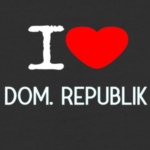 I LOVE DOMINIKANISCHE REPUBLIK - Baseball T-Shirt