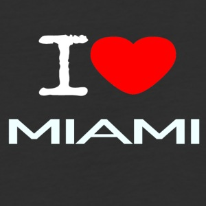 I LOVE MIAMI - Baseball T-Shirt