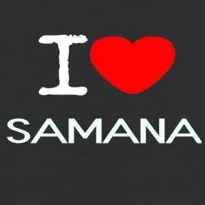 I LOVE SAMANA - Baseball T-Shirt