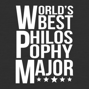 World's Best Philosophy Major - Baseball T-Shirt