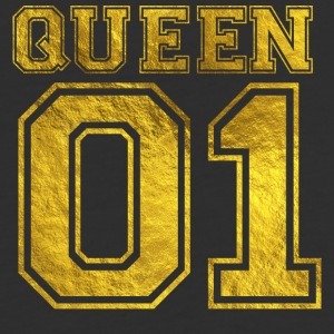 Queen_01_gold_1 - Baseball T-Shirt