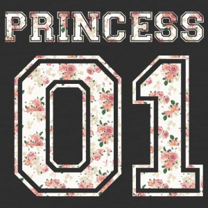 Princess_01_vintage_flower_bunt - Baseball T-Shirt