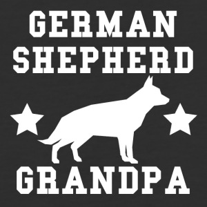 German Shepherd Grandpa - Baseball T-Shirt