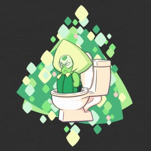 Clod in a Toilet - Baseball T-Shirt