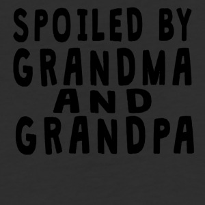 Spoiled By Grandma And Grandpa - Baseball T-Shirt