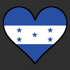Honduran Flag Heart - Baseball T-Shirt