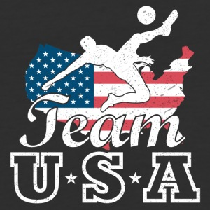 Team USA Soccer - Baseball T-Shirt