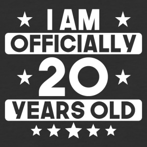 I Am Officially 20 Years Old 20th Birthday - Baseball T-Shirt