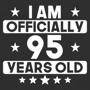 I Am Officially 95 Years Old 95th Birthday - Baseball T-Shirt