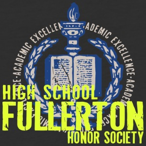 ACADEMIC EXCELLENCE HIGH SCHOOL FULLERTON HONOR SO - Baseball T-Shirt