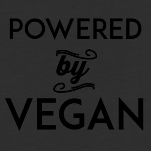 power by vegan - Baseball T-Shirt