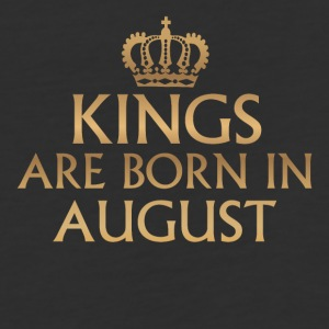 Kings are Born in August - Baseball T-Shirt