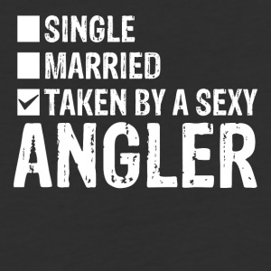 Single Married Taken by a sexy angler - Baseball T-Shirt