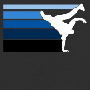 B BOY blue gradient pattern - Baseball T-Shirt