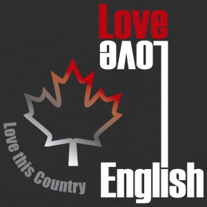 Love English, love Canada - Baseball T-Shirt