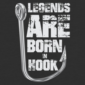 Legends Are Born in HOOK - Baseball T-Shirt