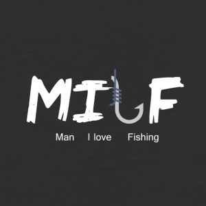 Man I Love Fishing - Baseball T-Shirt