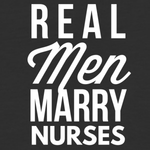 Real men marry nurses - Baseball T-Shirt