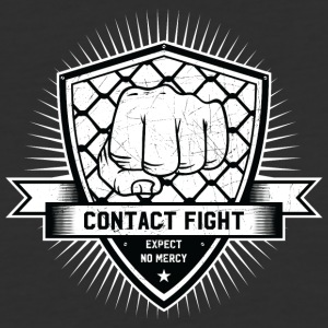 Contact Fight Vintage - Baseball T-Shirt