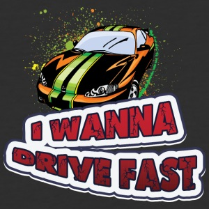 I_wanna_drive_fast - Baseball T-Shirt