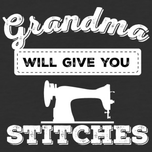 grandma will give you stitches - Baseball T-Shirt